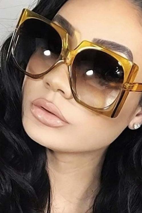Vintage Rectangle Sunglasses
