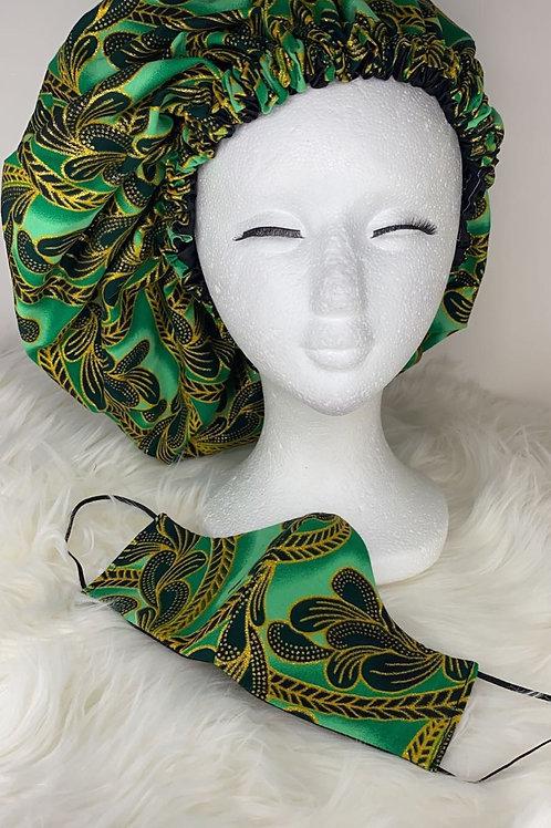 Ankara Bonnet & Mask Sets