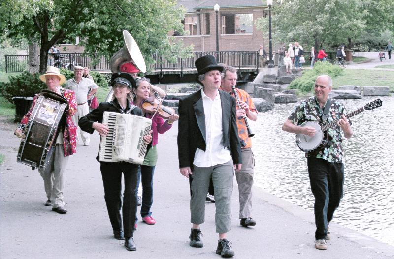 Parc Lafontaine, petite musique...