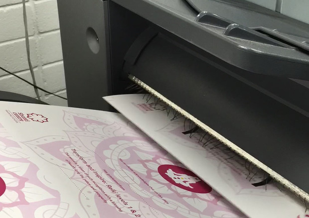 Just a little action shot of our printer in action.