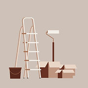 Vector illustration representing home renovation and remodeling