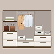 Vector illustration of customized wadrobes by the home interior designers in Chennai