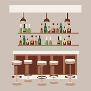 Vector illustration of Bar