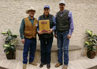 Bill Ireland Honored During KCA Annual Banquet with Awarding of 2018 KCA Legacy Award