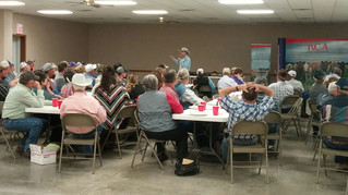 Bill Bullard Speaks at KCA Regional Meeting in Corning, Kansas