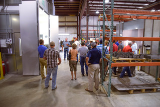 Kansas Cattlemen Tour HydraBed Facility During Regional Meeting