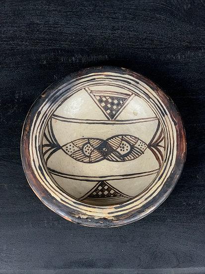 Keramikteller bemalt