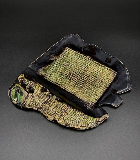 Keramik Platte Smaragd