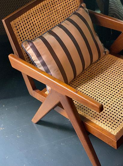 Satin Stripe Cushion