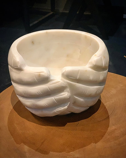 Marble Hand Bowl