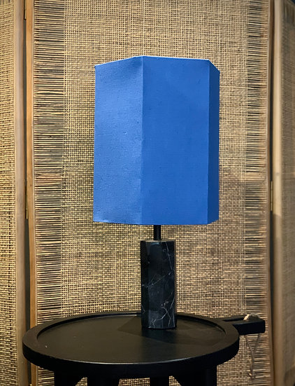 Marble Lamp - Blue