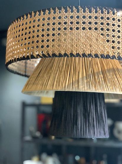 Tripple Cane Hanging Lamp