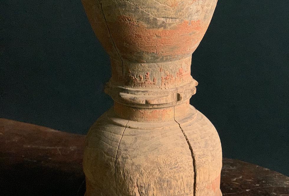 Wooden Candlestick #1