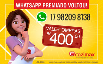 Whatsapp Premiado Voltou!