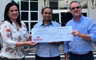 Cozimax apoia Hospital de Base em campanha de combate ao coronavírus