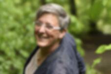 Christa Stirnimann in der Natur