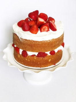 Naked Strawberry Short Cake
