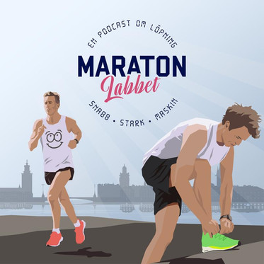 Lyssna på Maratonlabbet med Johan Rogestedt och Mikael Mattsson