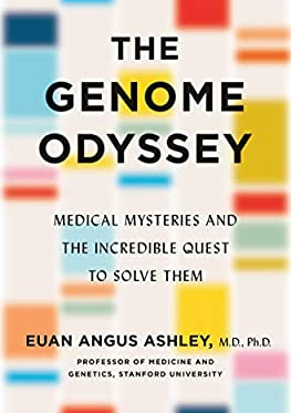 "New book by Svexa's Dr Euan Ashley - ""The Genome Odyssey"""