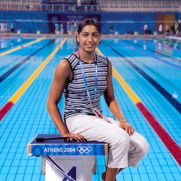 Olympian swimmer Shikha Tandon's life revolves around setting milestones