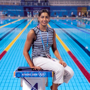 Olympian swimmer Shikha Tandon's life revolves around setting milestones