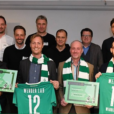 Svexa wins! Now beginning a collaboration with Werder Bremen soccer.
