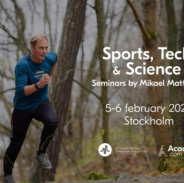 Join Mikael and Svexa team members for live Sports Tech seminars -  Stockholm Feb 5-6. 50% discount!