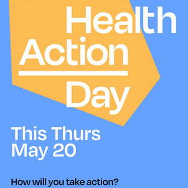 Svexa advocates for athlete mental health - MH Action Day May 20th