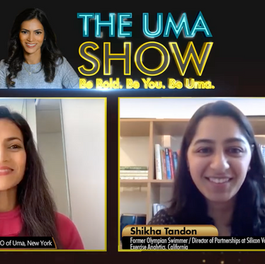 Shikha interviewed for The Uma Show - Role Models in South Asian Sports