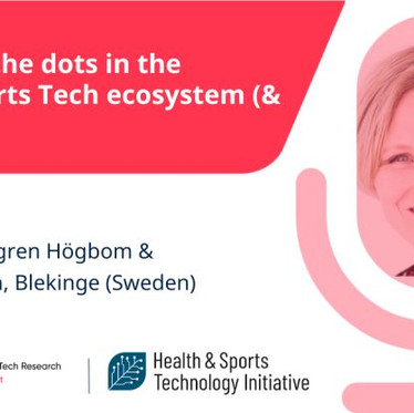 Podcast - Connecting the Dots in the Swedish Sports Tech Ecosystem