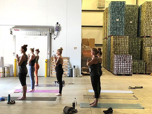 Yoga & Beer at Haymarket Taproom