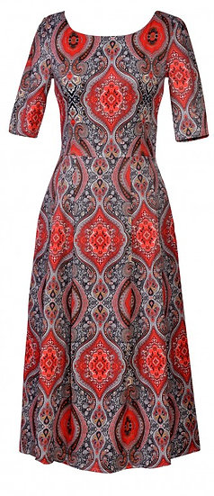 Persia Dress Long Red