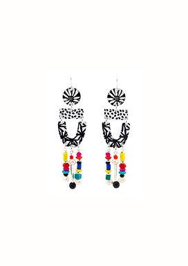 Jennie Riley, Handcrafted Costume Jewellery Earrings   Winter Days