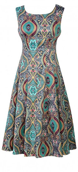 Persia Flip Dress Teal