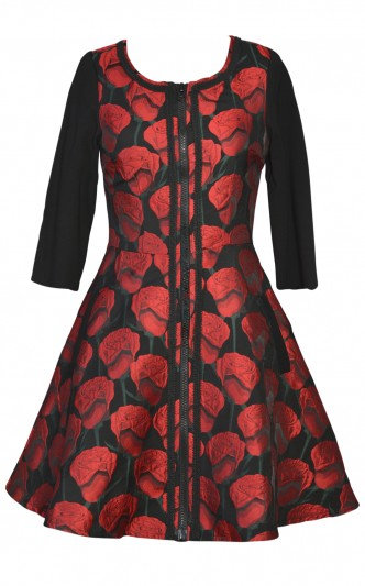 Stella Dress Short Red