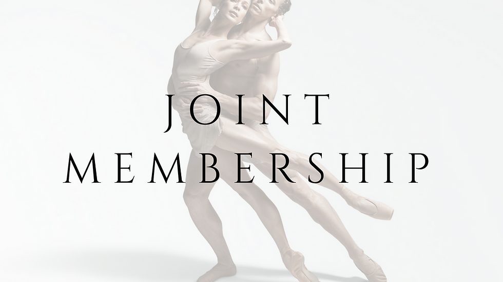 JOINT MEMBERSHIP - 1 YEAR