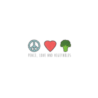 Peace Love and Vegetables