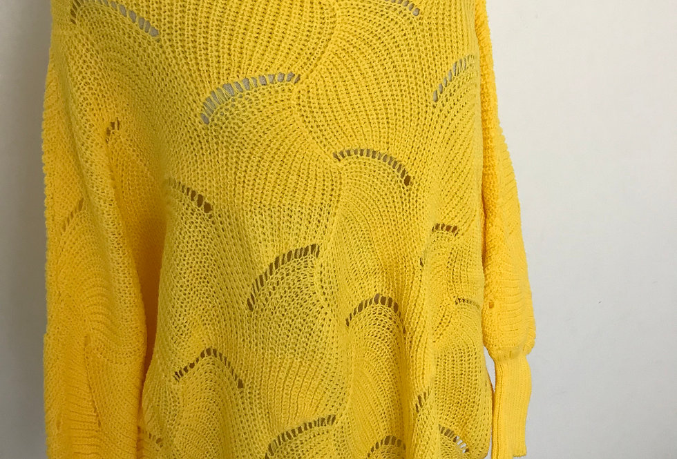 BATWING KNIT - SUNSHINE YELLOW