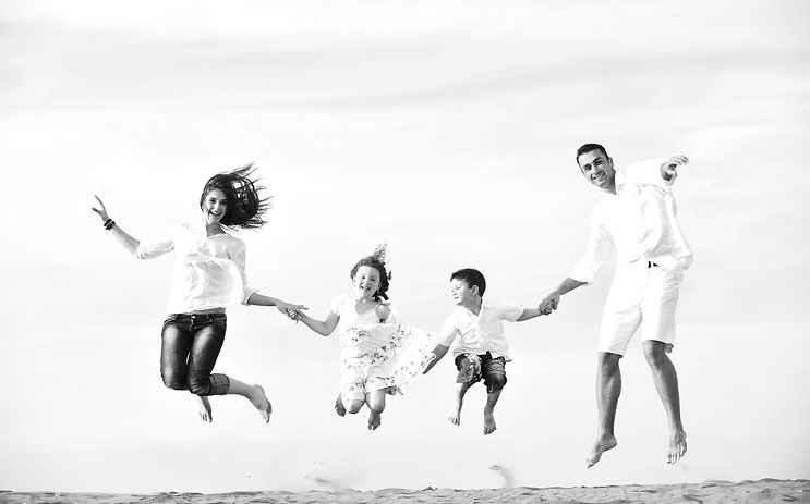 Cedar Chiropractic Happy Family