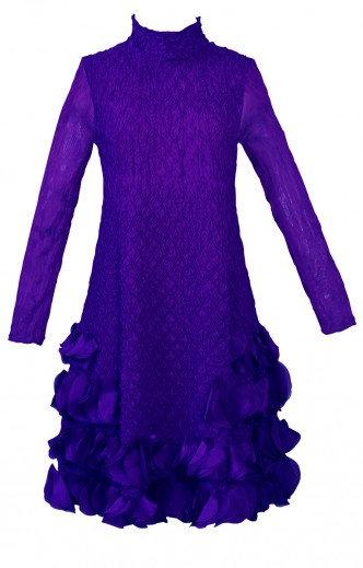 Puff Dress Jacaranda