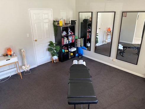Cedar Chiropract Treatment Room