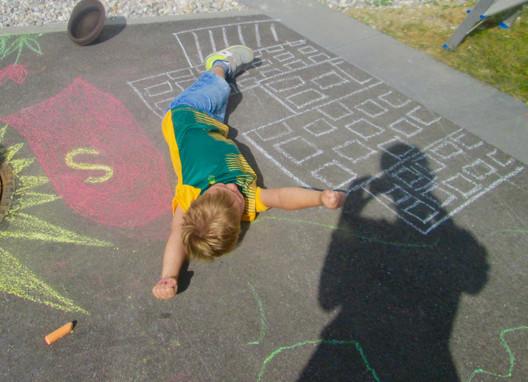 Superman chalk sculptures.jpg
