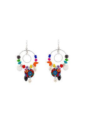 Jennie Riley, Handcrafted Costume Jewellery Earrings | Winter Days