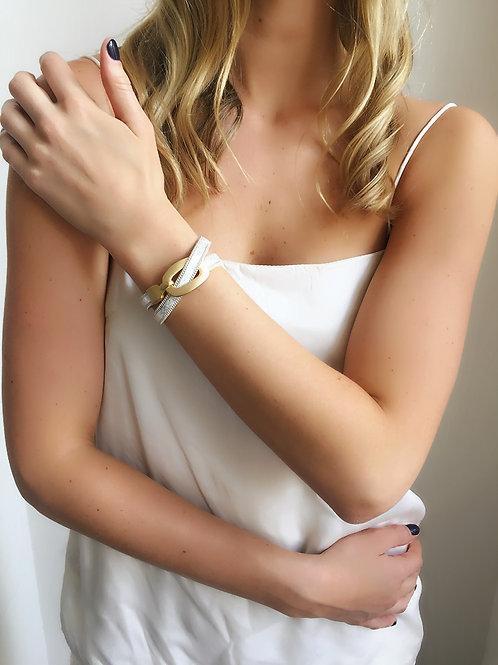 Wrap Bracelet - Silver - Wholesale