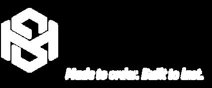 Mayes Sheetmetal Logo Symbol White