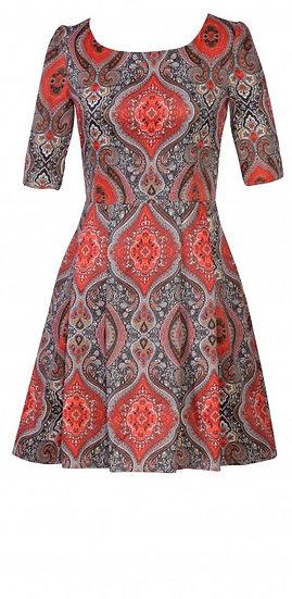 Persia Dress Short Red