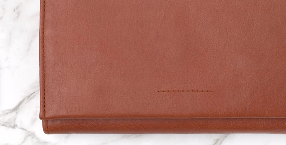 Ovae, Eva Leather Wallet | Chestnut