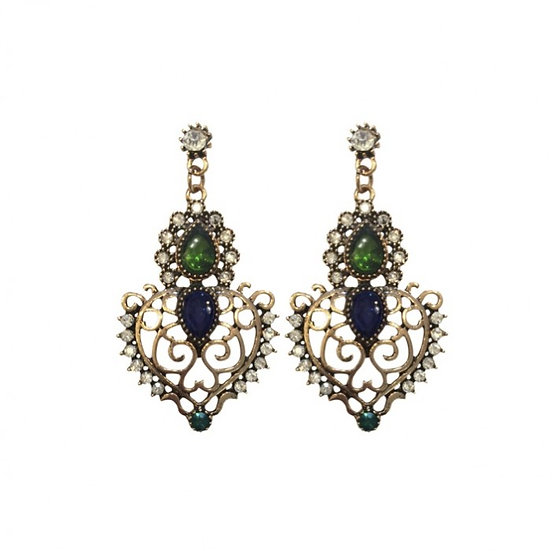 Johnston & Bell Crown Earrings