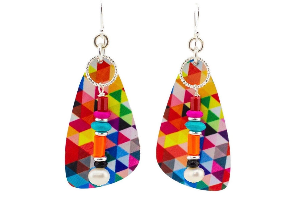 Jenni Riley, Winter Days 49 Earrings