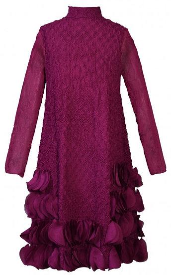 Puff Dress Raspberry